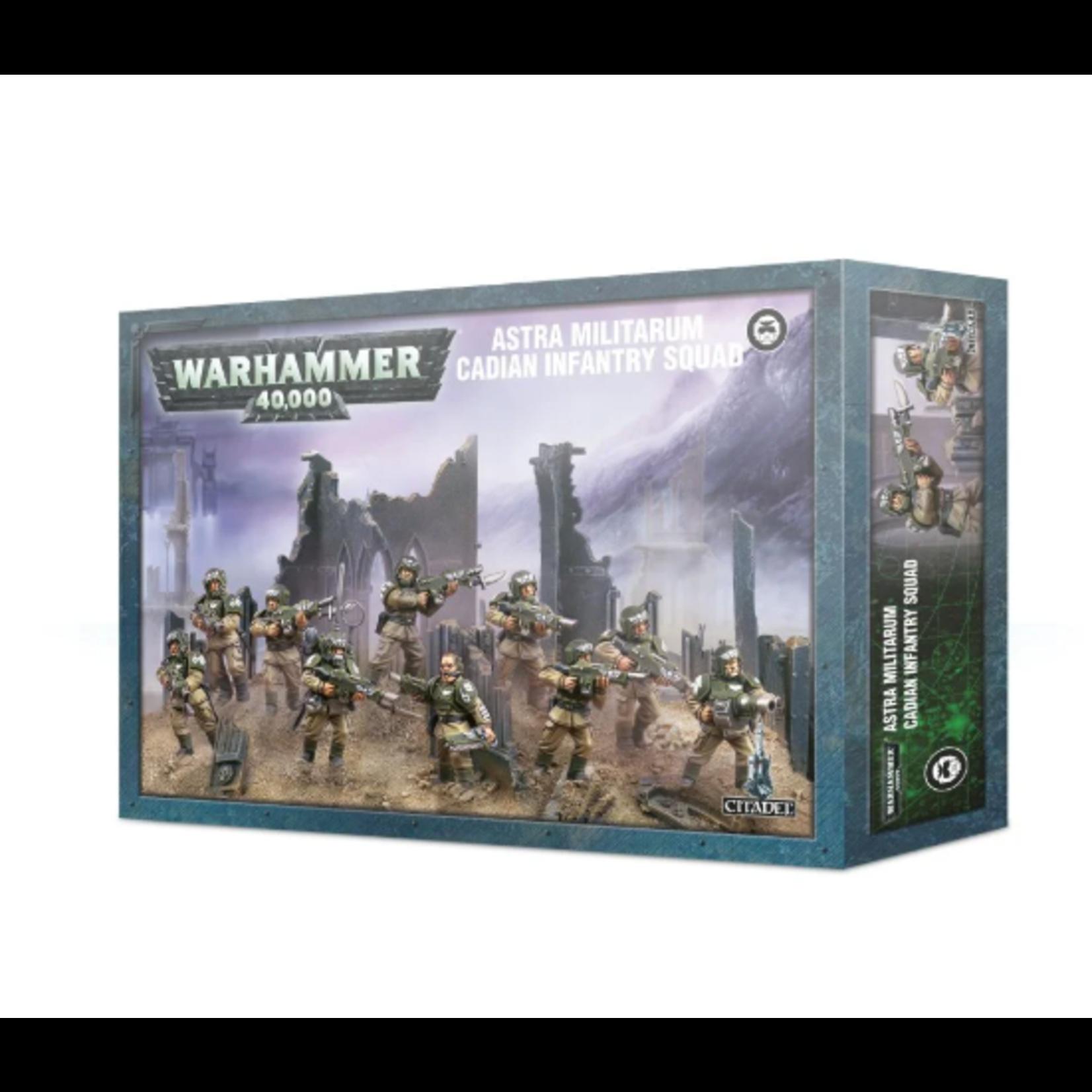 Games Workshop Astra Militarum  Cadian Infantry Squad