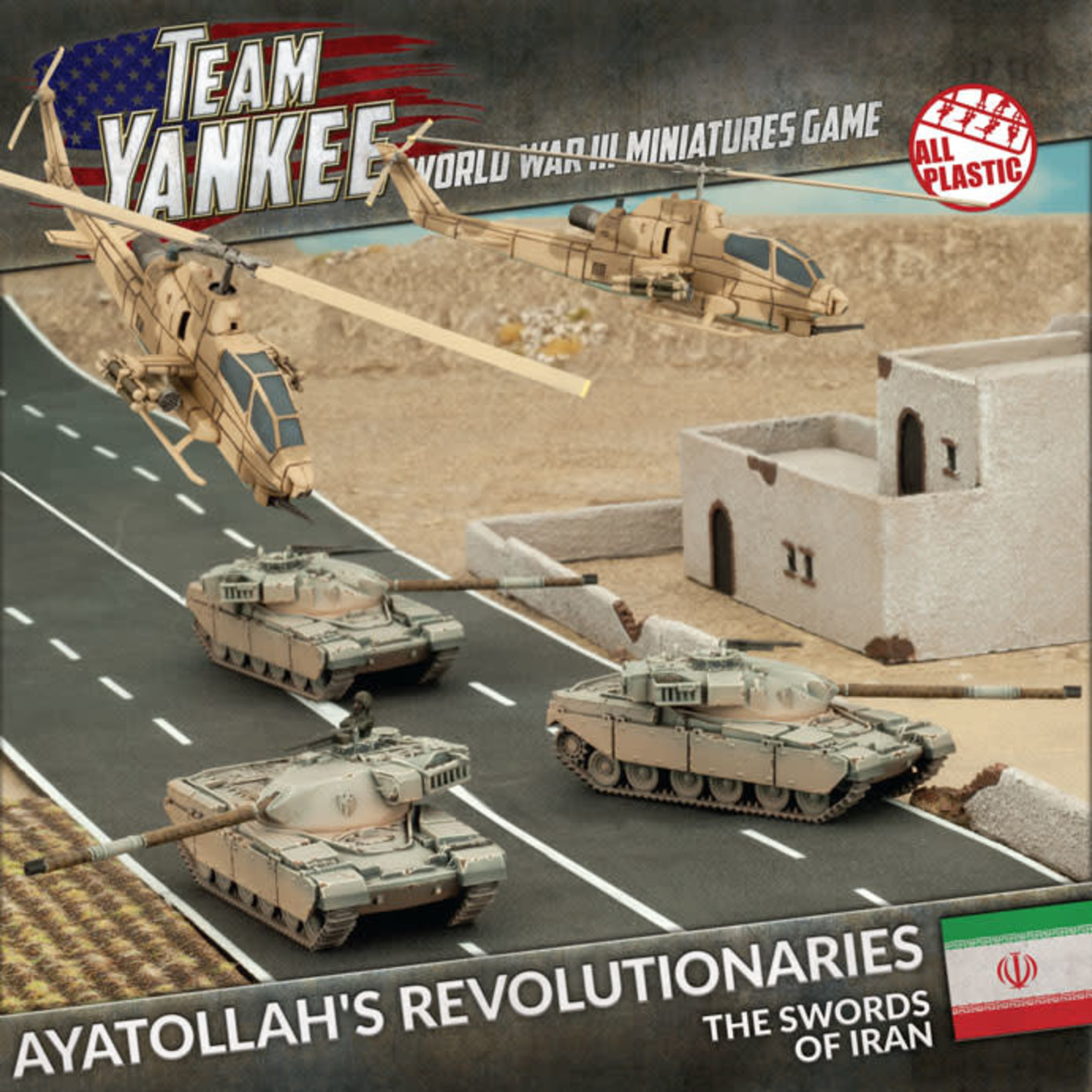 Battlefront Miniatures Ltd Team Yankee - World War III | Ayatollah's Revolutionaries (Plastic Army Deal)