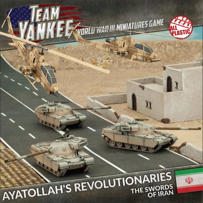 Team Yankee - World War III   Ayatollah's Revolutionaries (Plastic Army Deal)
