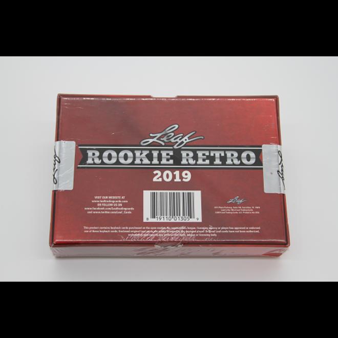 2019 Leaf Rookie Retro
