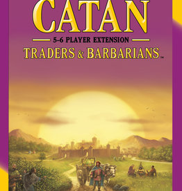 Catan Studios Inc Settlers of Catan Traders & Barbarians 5-6 Player Expansion