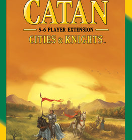 Catan Studios Inc Settlers of Catan Cities & Knights 5-6 Player Expansion Pack