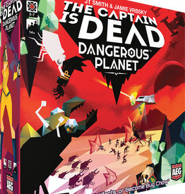 Alderac Entertainment Group Captain Is Dead Dangerous Planet