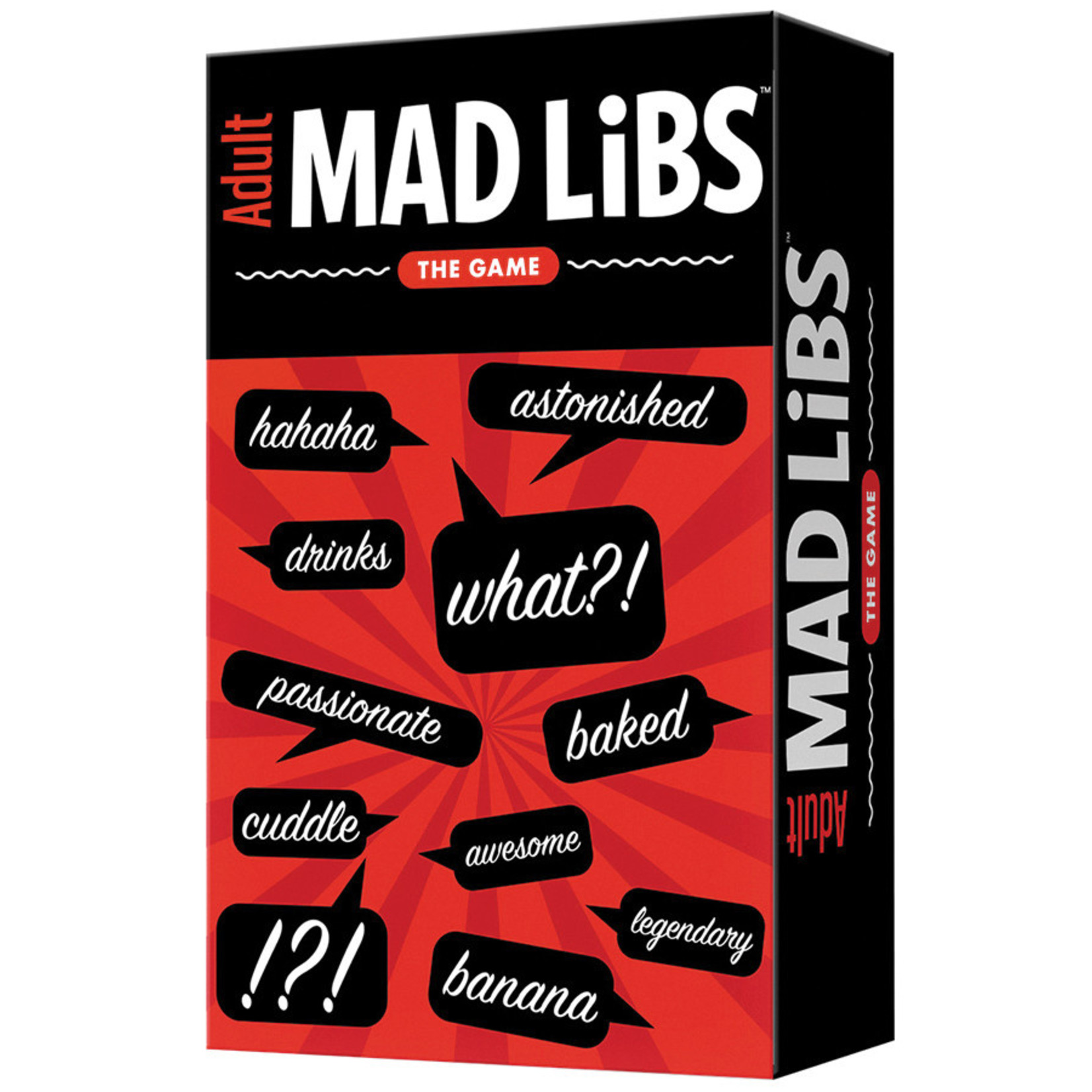 Fully Baked Ideas Adult Mad Libs: The Game