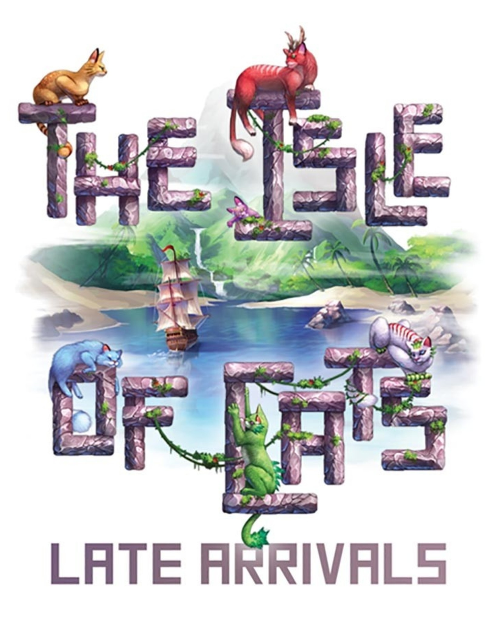 The City Of Games Isle of Cats Late Arrivals Expansion