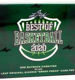 Leaf Trading Cards 2020 Leaf Best of Basketball