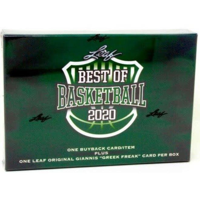 2020 Leaf Best of Basketball