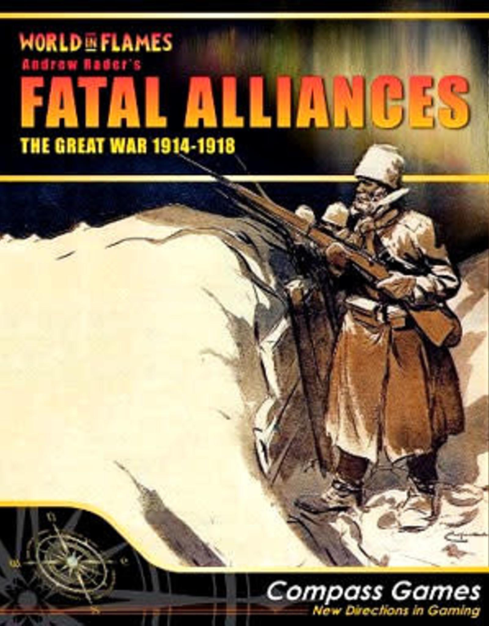 Compass Games Fatal Alliances: The Great War