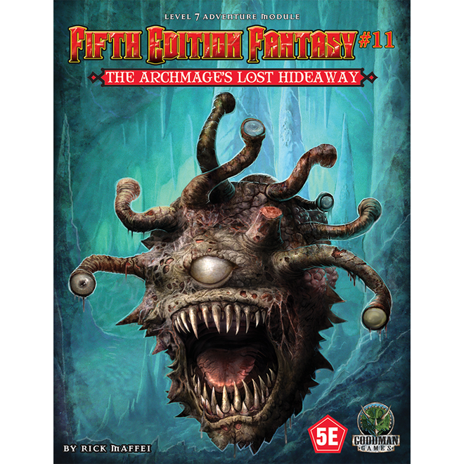D&D: Fifth Edition Fantasy - #11 Archmages Lost Hideaway