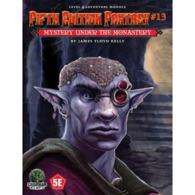 D&D: Fifth Edition Fantasy - #13 Mystery Under The Monastery