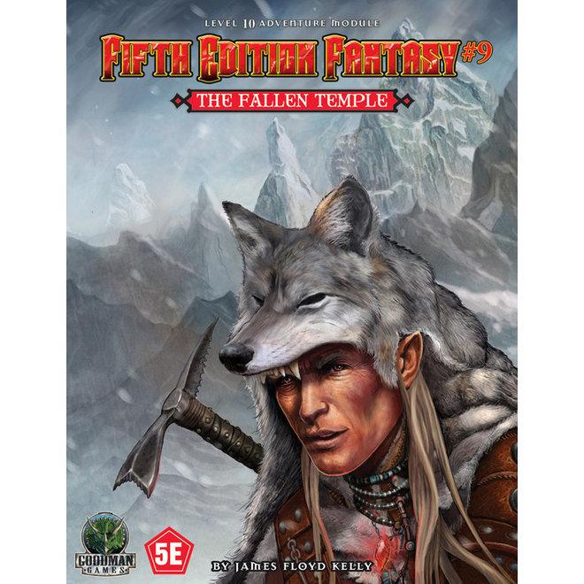 D&D: 5E Fantasy -  #9 Fallen Temple