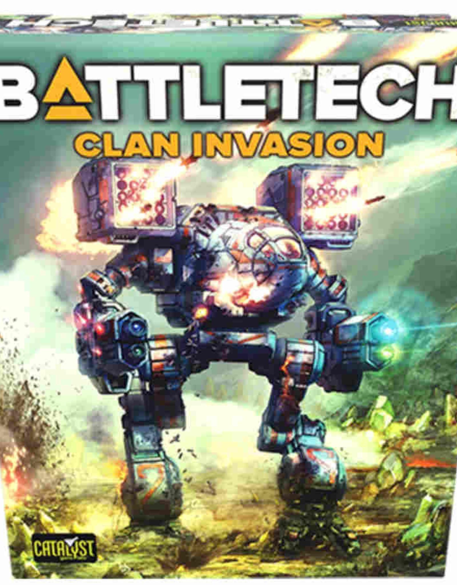 Catalyst Game Labs Battletech TR Clan Invasion