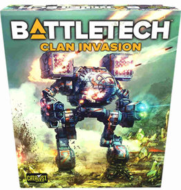 Catalyst Game Labs Battletech TR Clan Invasion
