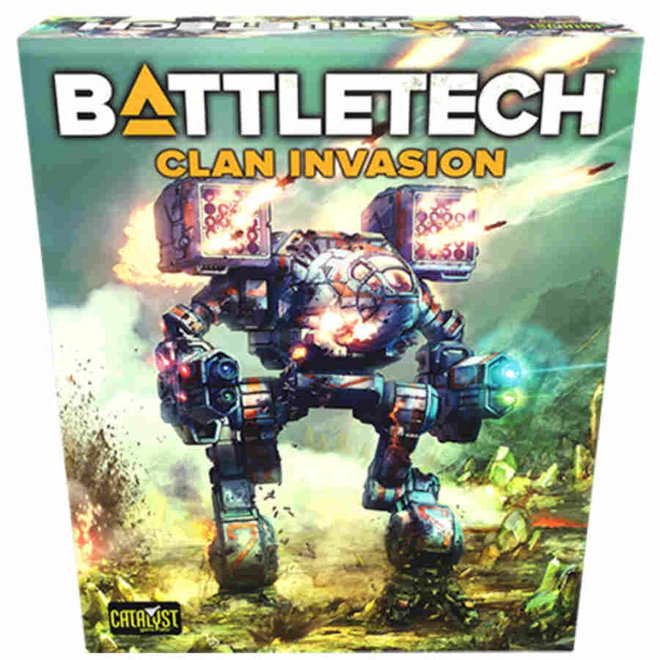 Battletech TR Clan Invasion