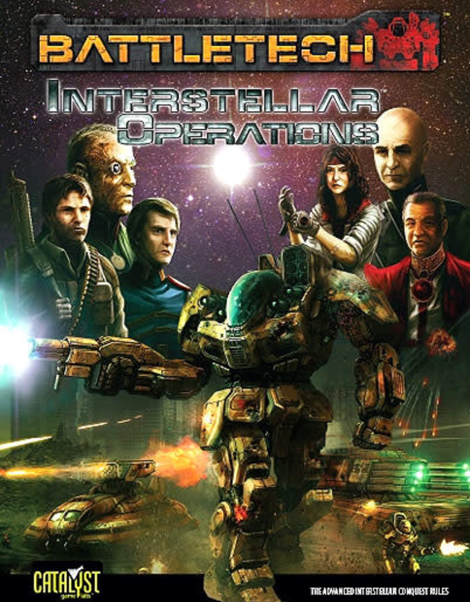 Catalyst Game Labs BattleTech: Interstellar Operations