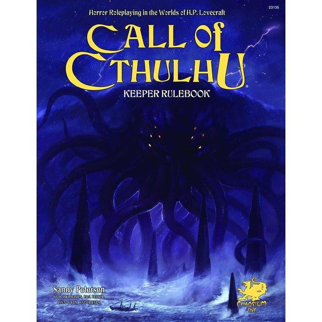 Call of Cthulhu: 7E - Keeper Rulebook
