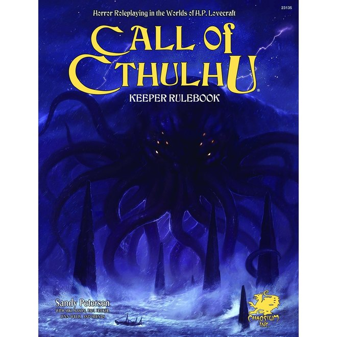 Call of Cthulhu: 7th Edition - Keeper Rulebook