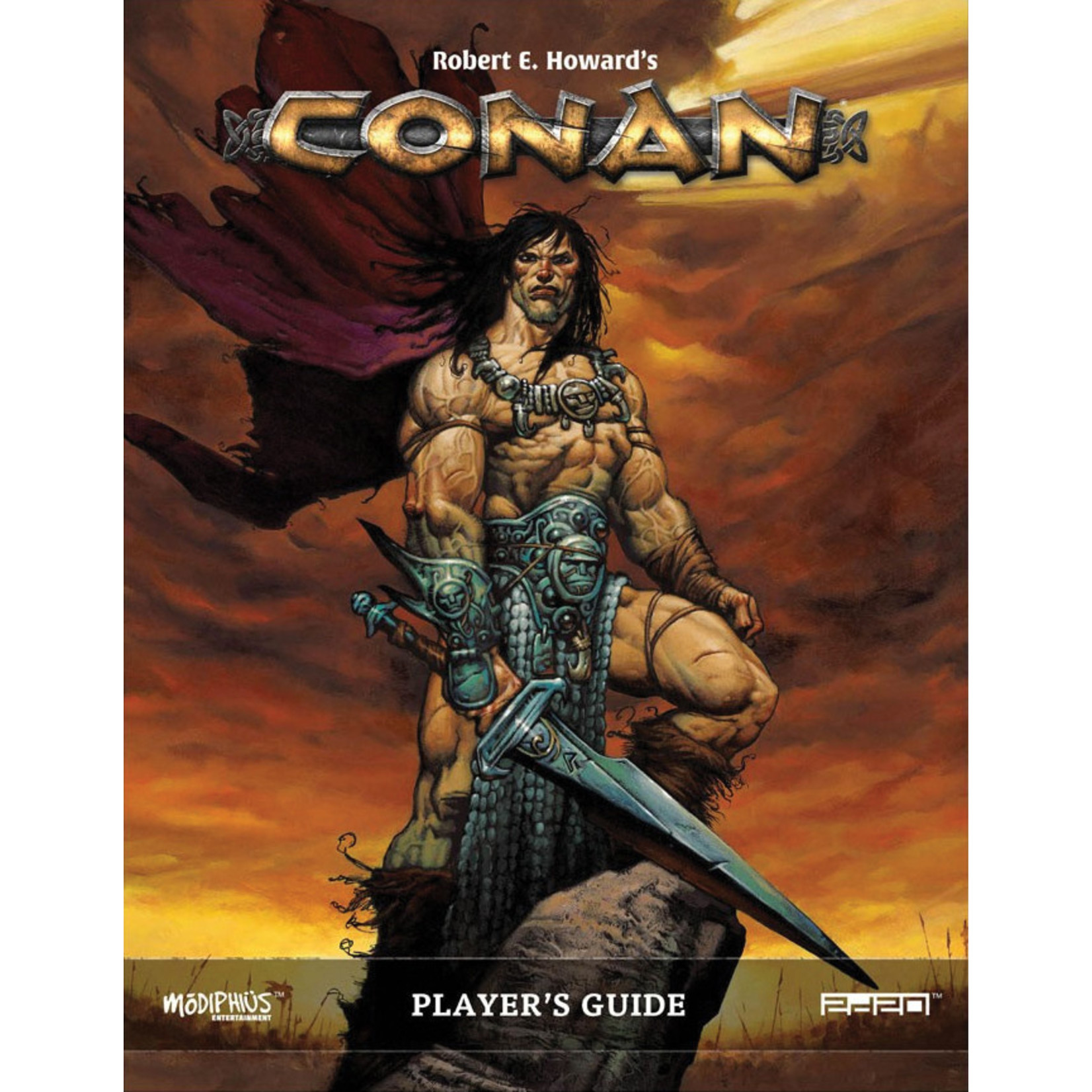 Modiphius Entertainment Conan: Player`s Guide