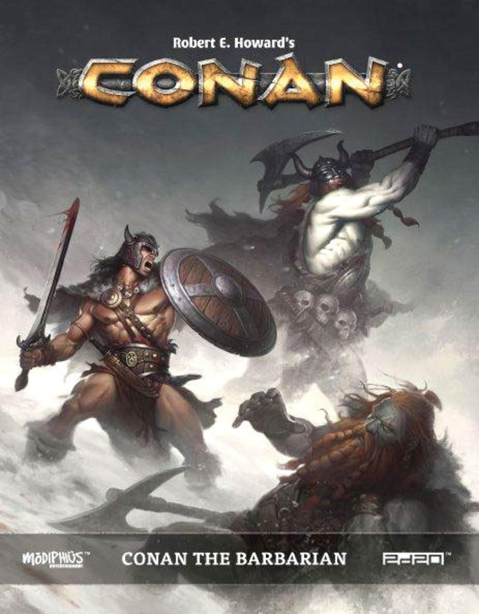 Modiphius Entertainment Conan: The Barbarian HC