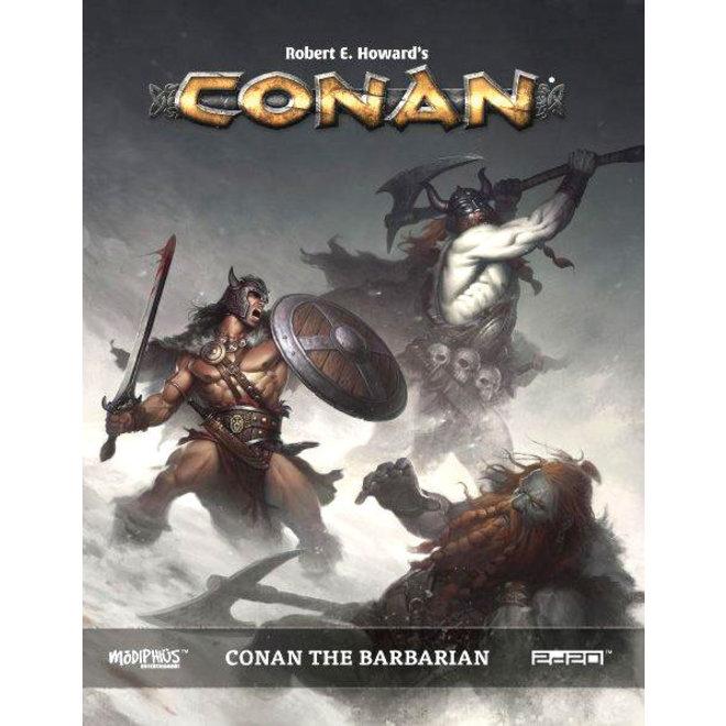 Conan: Adventures in an Age Undreamed Of - Conan: The Barbarian Sourcebook