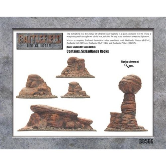 Badlands Tors - Mars 30mm