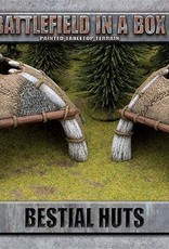 Gale Force Nine Bestial Huts (x2) - 30mm