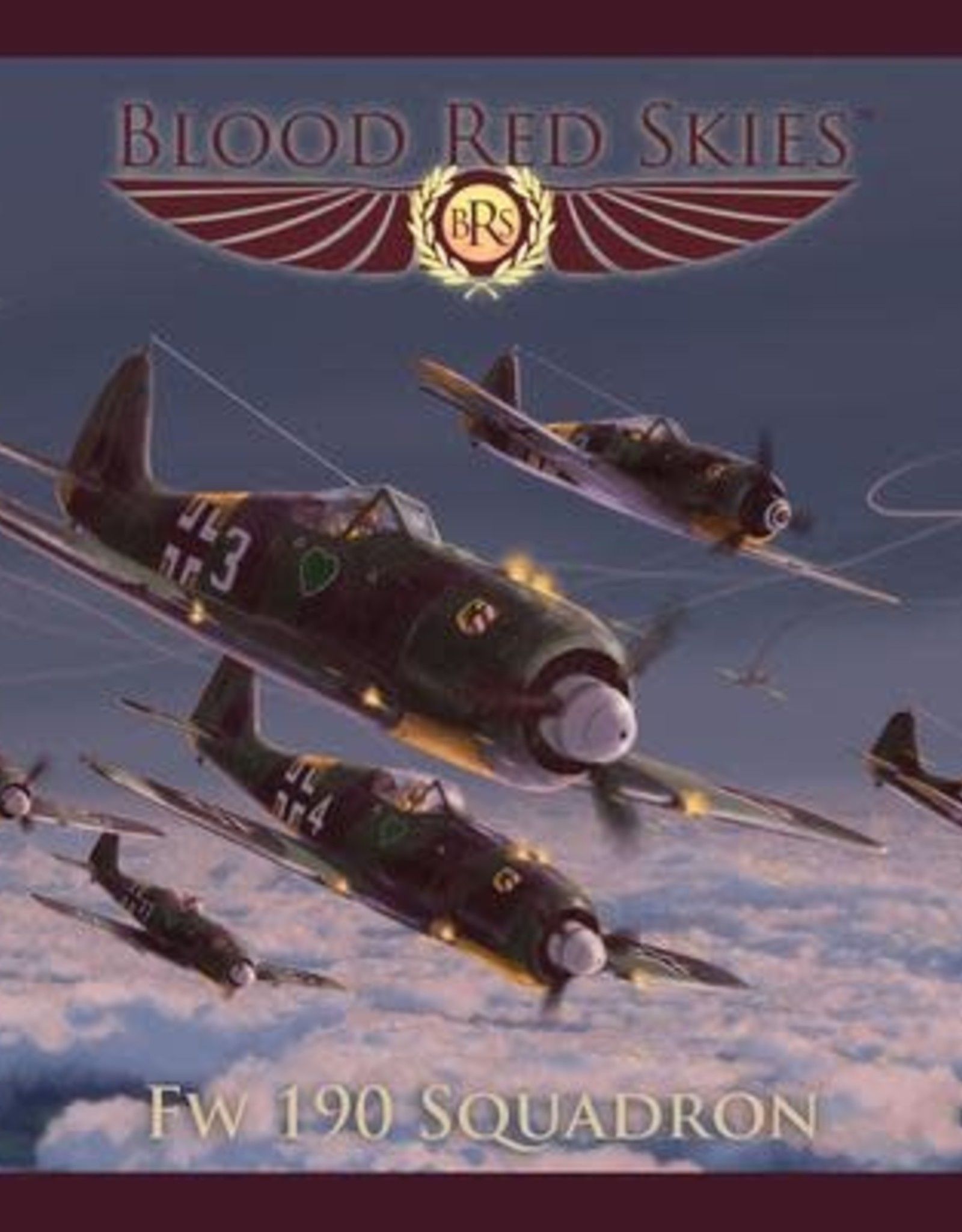 Warlord Games Blood Red Skies: German Fw 190 Squadron