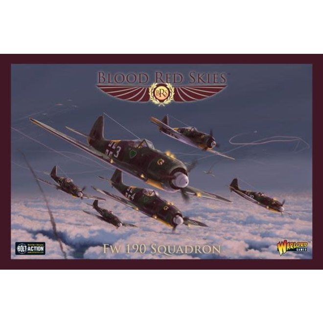 Blood Red Skies: German Fw 190 Squadron