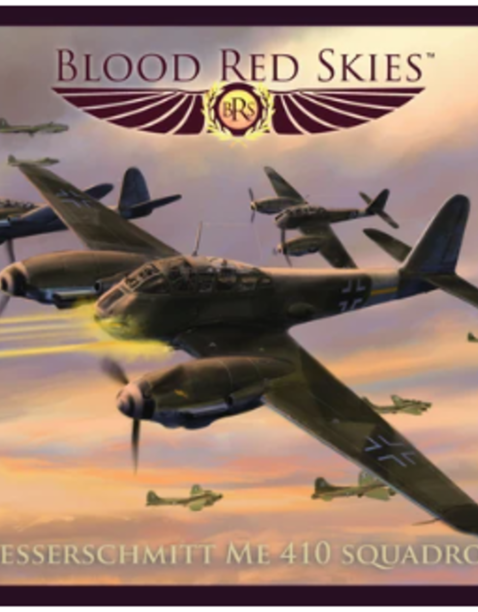 Warlord Games Blood Red Skies: German Me410 Squadron