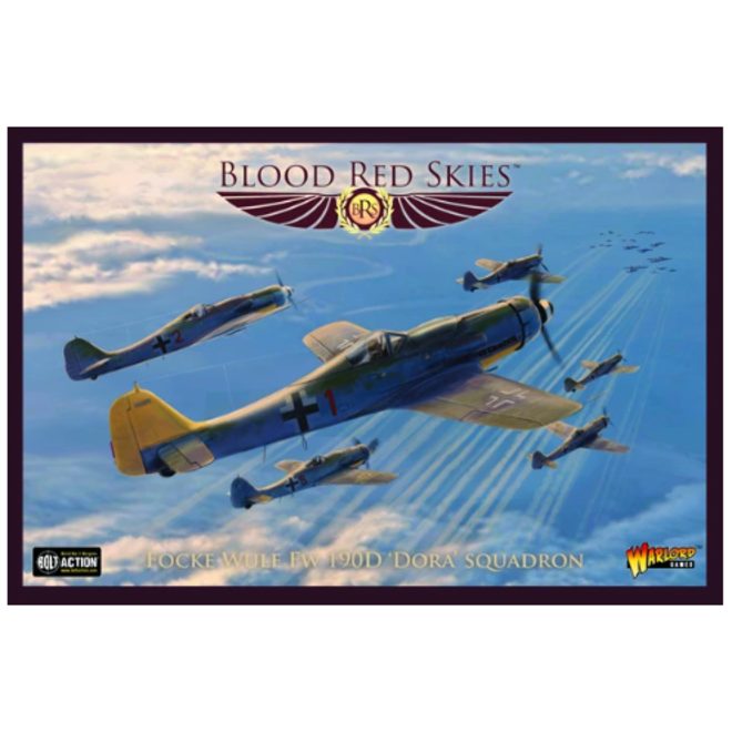 Blood Red Skies: German Fw 190D Dora Squadron
