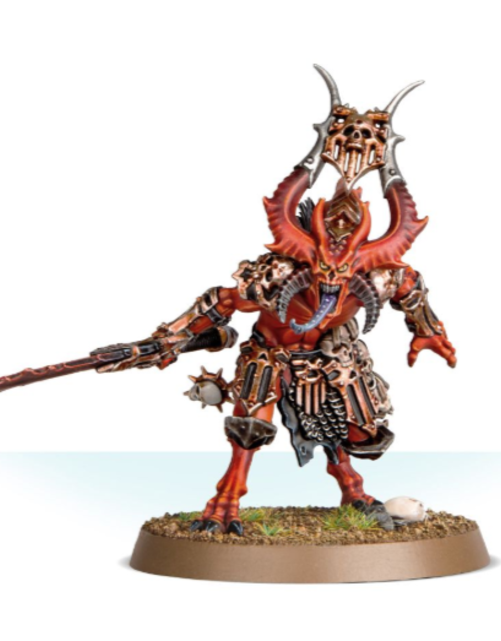 Games Workshop Daemons of Khorne: Bloodmaster  Herald  Of Khorne
