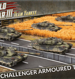Battlefront Miniatures Ltd TY | Challenger Armoured Troop