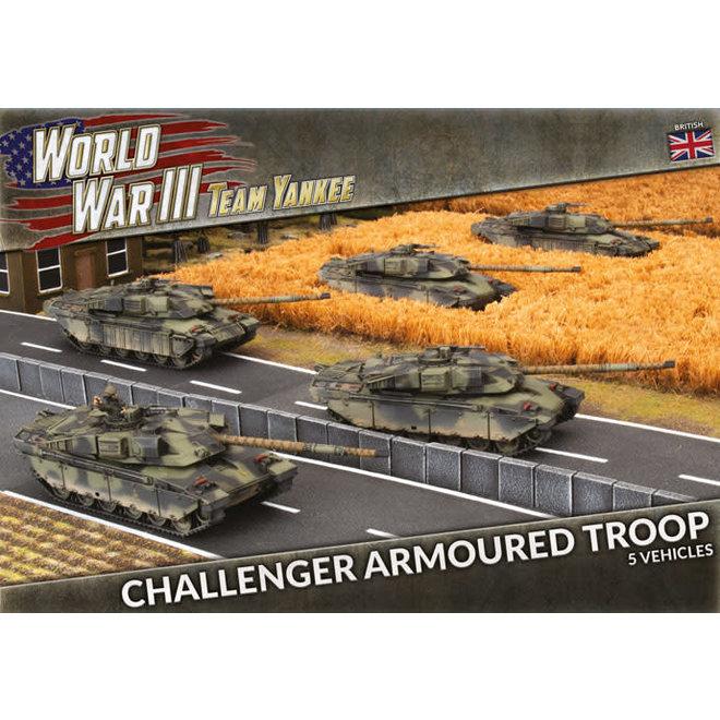 Team Yankee - World War III   Challenger Armoured Troop