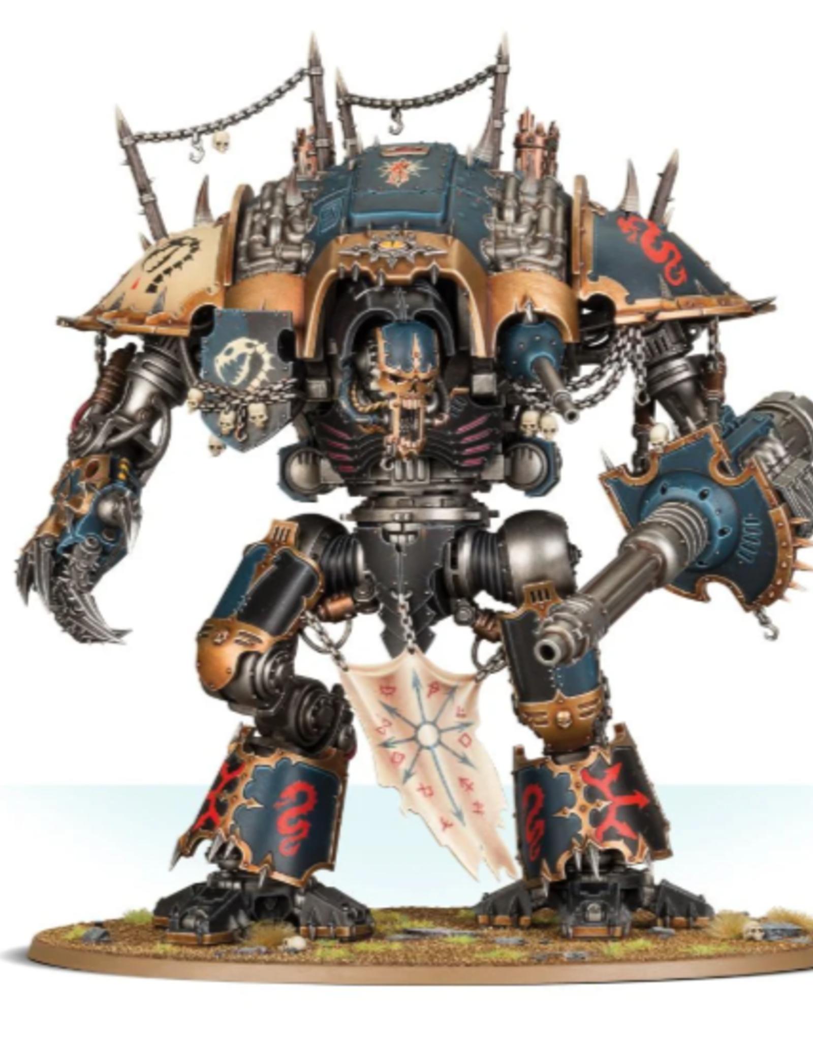 Games Workshop Chaos Knights: Knight Desecrator
