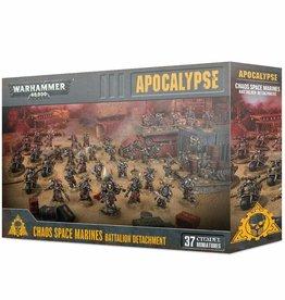 Games Workshop Chaos Space Marines Battalion Detachment