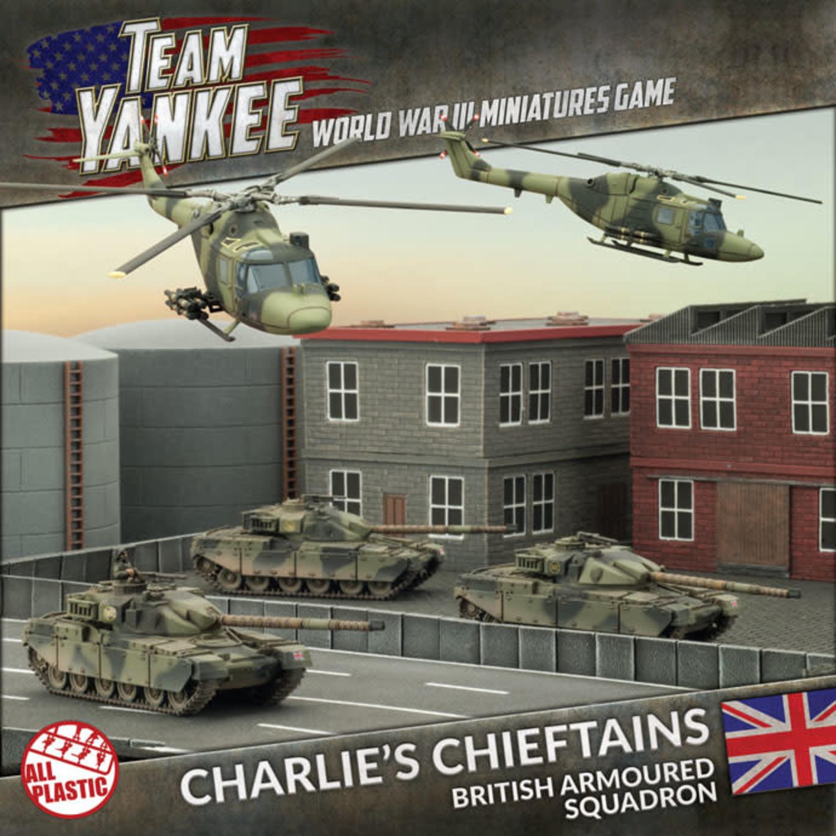 Battlefront Miniatures Ltd Team Yankee - World War III | Charlie's Chieftains (Plastic Army Deal)