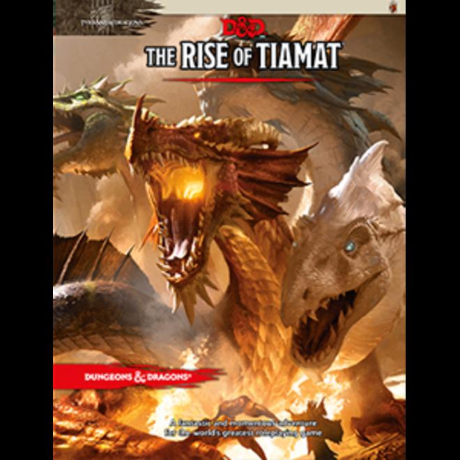 D&D: 5E Tyranny of Dragons - Rise of Tiamat