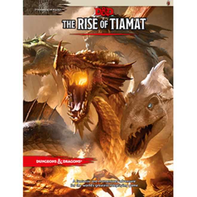 Dungeons & Dragons: 5th Edition Tyranny of Dragons - Rise of Tiamat