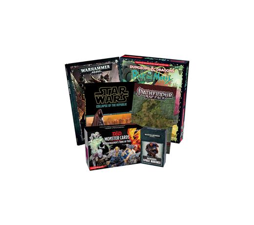 RPG Games & Sourcebooks