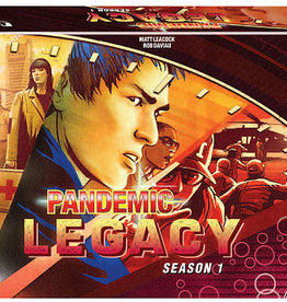 Z-Man Games Pandemic: Legacy Season 1 - Red (stand alone)