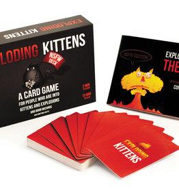 Exploding Kittens LLC Exploding Kittens NSFW Edition