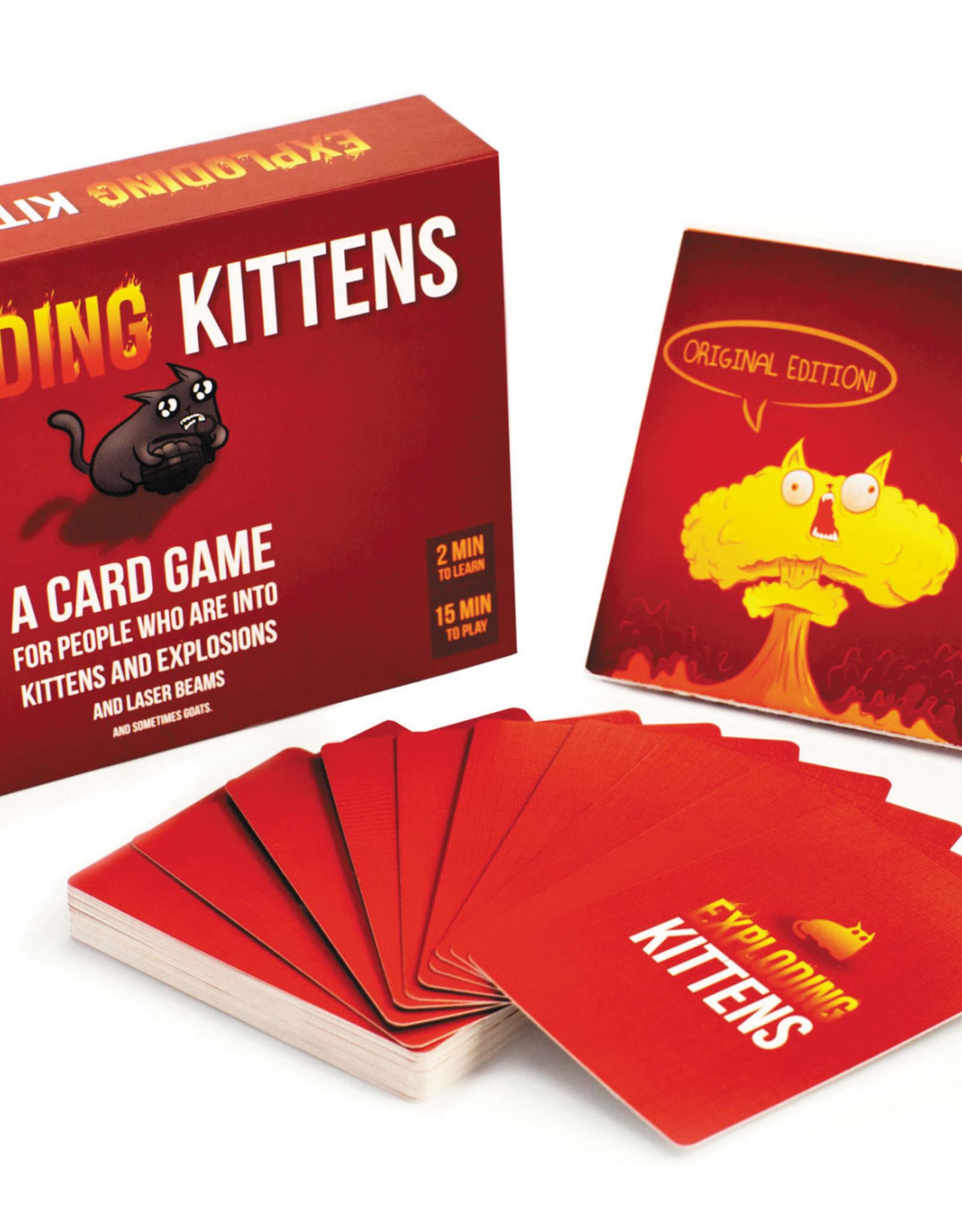 Exploding Kittens LLC Exploding Kittens Original Ed