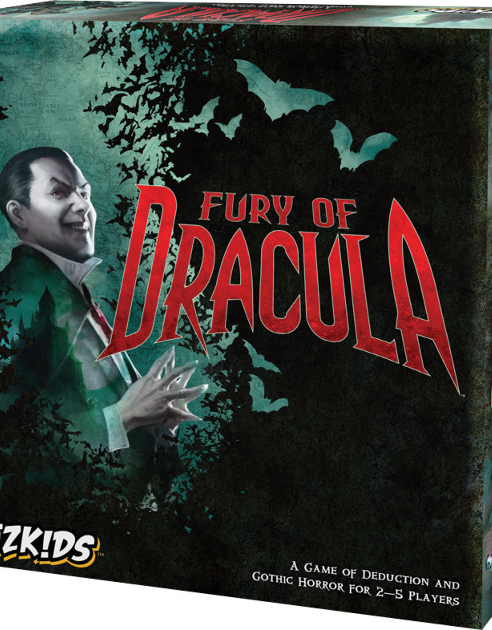 WizKids Fury of Dracula (4E)
