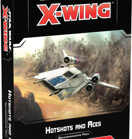 Fantasy Flight Games X-Wing: 2E - Hotshots and Aces Reinforcements Pack