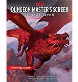 Wizards of the Coast D&D - DM Screen Reincarnated