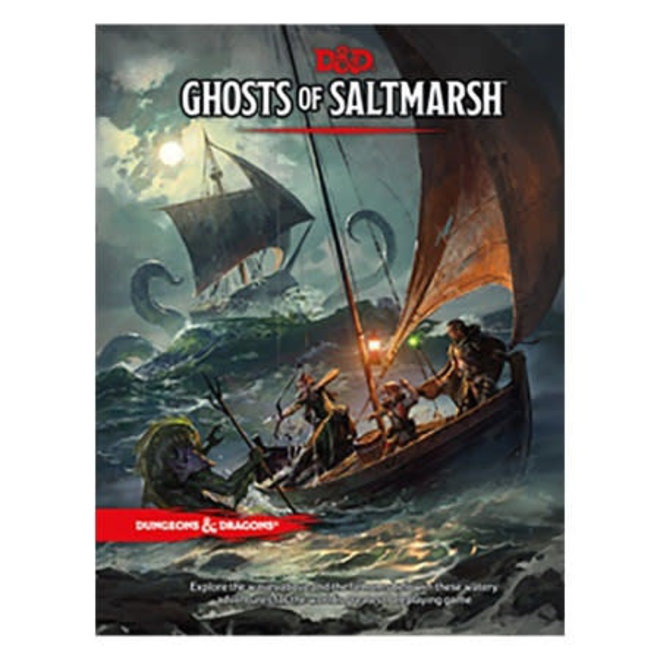D&D: 5E - Ghosts of Saltmarsh