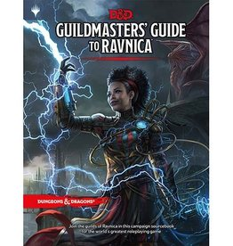 Wizards of the Coast D&D 5E - Guildmaster's Guide to Ravnica