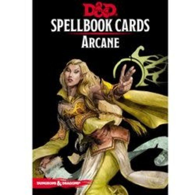 Dungeons & Dragons: 5th Edition Spell Cards - Arcane Deck