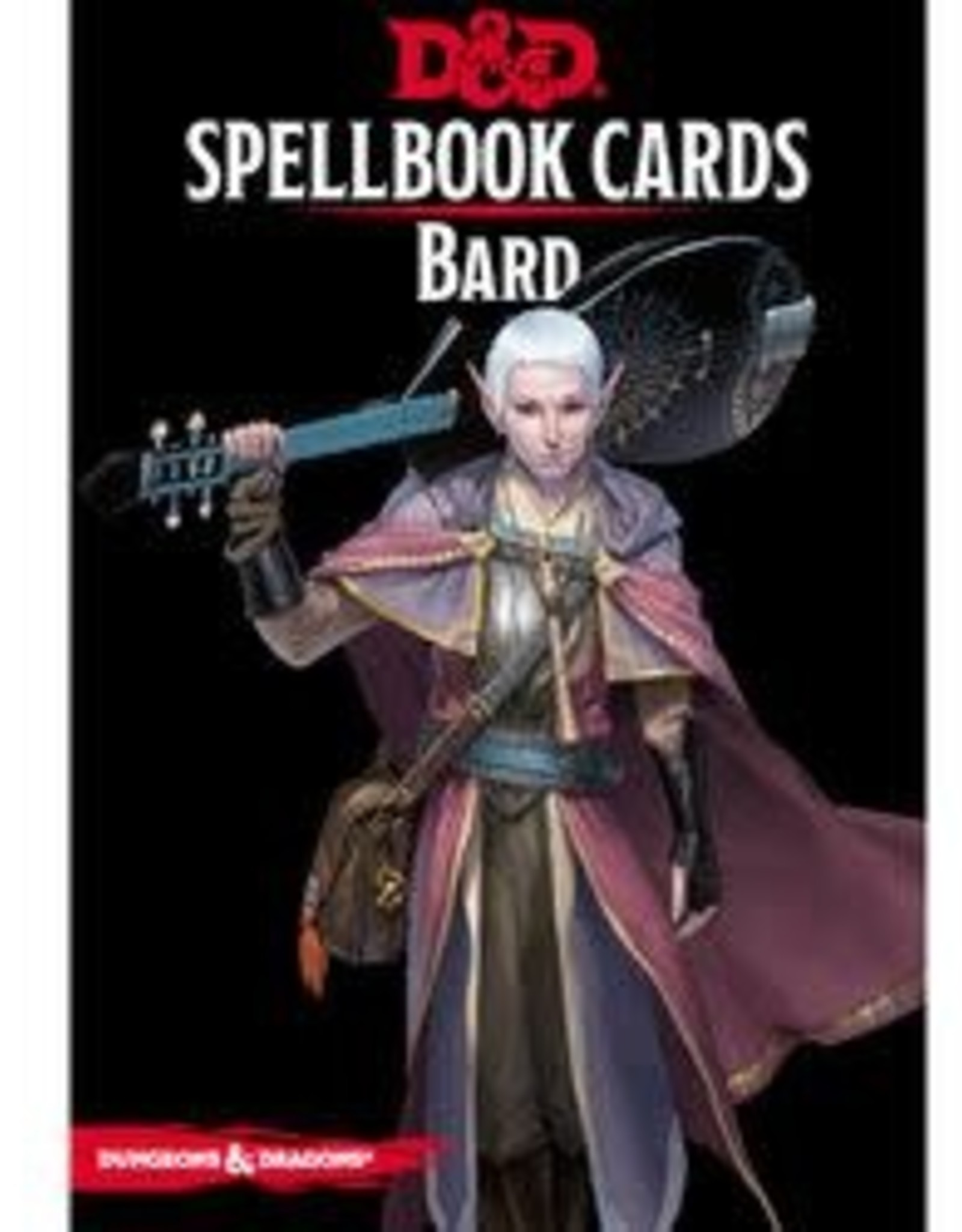 Gale Force Nine D&D Spell Cards: Bard Deck