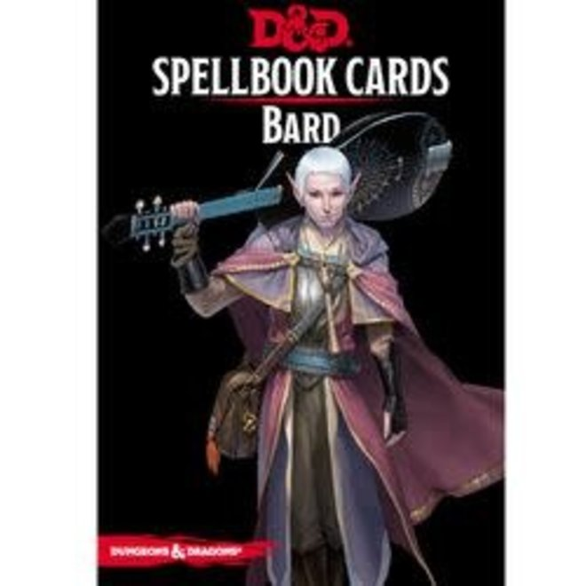 Dungeons & Dragons: 5th Edition Spell Cards - Bard Deck